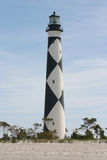 Cape Lookout Lighthouse. In North Carolina Stock Photography