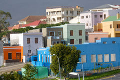 Cape Malay Houses Stock Photography