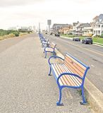 Cape May:  Empty Benches Stock Images