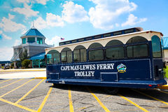 Cape May - Lewes Ferry Trolley stock photography
