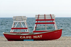 Cape May Lifeboat Royalty Free Stock Image