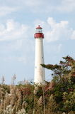 Cape May Lighthouse Stock Photo