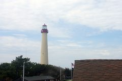 Cape May Lighthouse, New Jersey royalty free stock images