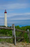 Cape May Lighthouse NJ Stock Photo