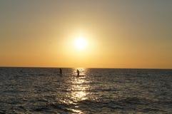 Cape May - sikt av den Delaware fjärden arkivfoton