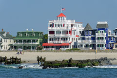 Cape May strand Royaltyfria Bilder