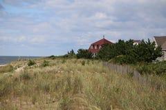 Cape May strandhem Fotografering för Bildbyråer