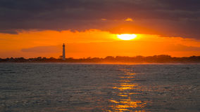 Cape May sunset. Beautiful sunset at Cape May New Jersey stock photos