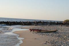 Cape May - vista della baia di Delaware Immagine Stock