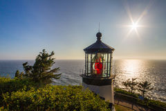 Cape Meares Light Royalty Free Stock Photo