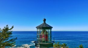 Cape Meares Lighthouse Stock Photography