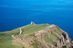 Cape Meganom in Black Sea Royalty Free Stock Photography