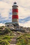 Cape Moreton Lighthouse on the North part of Moreton Island. Stock Photos