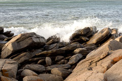 Cape Naturaliste Gneiss Royalty Free Stock Photography