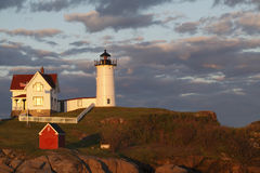 Cape Neddick Royalty Free Stock Photography