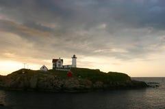 Cape Neddick Light II stock photos