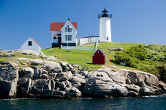 Free Cape Neddick Lighthouse Royalty Free Stock Photography - 11744427