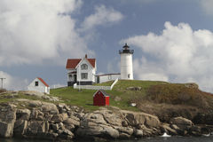 Cape Neddick Lighthouse Stock Image
