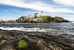 Cape Neddick Lighthouse Royalty Free Stock Image