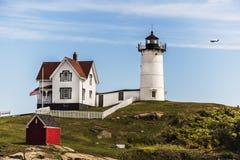Cape Neddick Lighthouse Stock Images