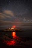 Cape neddick lighthouse. York Maine Royalty Free Stock Image
