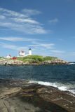 Cape Neddick Nubble Stock Image