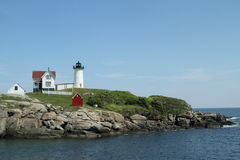 Cape Neddick Nubble Light Royalty Free Stock Image