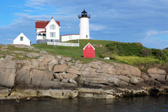 Cape Neddick Nubble Lighthouse Royalty Free Stock Photos