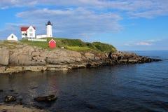 Cape Neddick Nubble Lighthouse Stock Photos