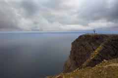 Cape Nordkap. Norway. Arctic Ocean. Coast. Stock Image
