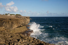 Cape north point on the island of Barbados Royalty Free Stock Photography