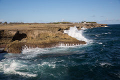 Cape north point on the island of Barbados Stock Photo