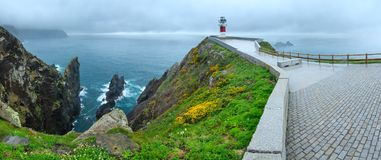 Cape Ortegal Lighthouse Spain. Royalty Free Stock Photo