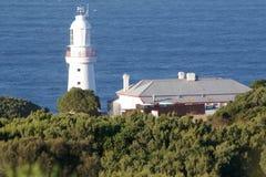 Cape Otway Lighting House. Great Ocean Walk royalty free stock image