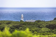 Cape Otway Lightstation Melbourne Australia Great Ocean Road and surroundings royalty free stock images