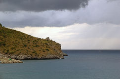 Cape Palinuro, Italy Royalty Free Stock Images
