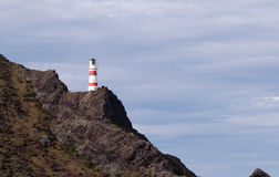 Cape Palliser Light house Royalty Free Stock Photos