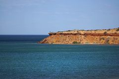 Cape Peron Australia. Cape Peron National Park in Western Australia.The cape is noted for its protected beaches, limestone cliffs, reefs and panoramic views royalty free stock photos