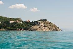Cape Plaka ,Crimea-Ukraine royalty free stock image