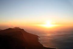 Cape point cliffs Stock Image