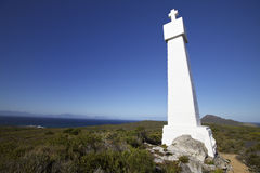 Cape point cross, Gama and Dias honoured Royalty Free Stock Photography