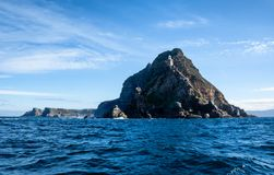 Cape Point. A Cape Point landscape from the water royalty free stock image