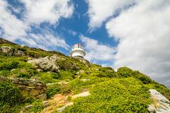 Cape Point light house at Cape of good Hope, South Africa Royalty Free Stock Images