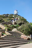 Cape point lighthouse Stock Photography