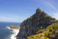 Cape Point rock face Royalty Free Stock Image