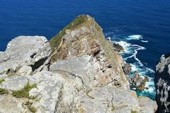 Cape point rocks. South Africa Stock Photography