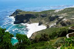 Cape point rocks. South Africa Royalty Free Stock Photography