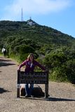 Cape Point Sign, The Cape of Good Hope, Western Cape, South Africa royalty free stock photography
