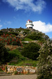 Cape Point, South Africa. With the lighthouse Stock Photography