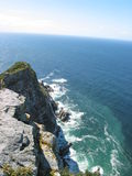 Cape point, South Africa. Cape point at African peninsula royalty free stock image